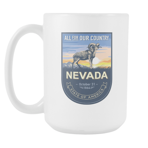 Nevada - 15oz Coffee Mug (3 Versions)