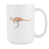 Image of Kangaroo - 15oz Coffee Mug - Nana The Noodle