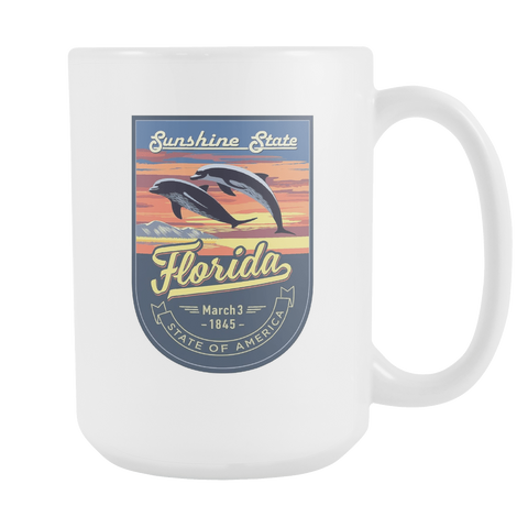 Florida - 15oz Coffee Mug (3 Versions) - Nana The Noodle