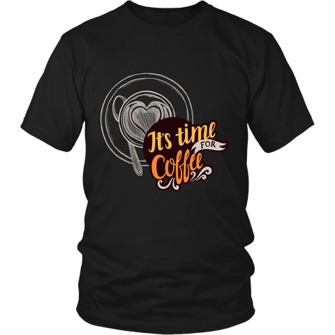 It's Time For Coffee (T-Shirts & Hoodie, Many Colors) - Nana The Noodle