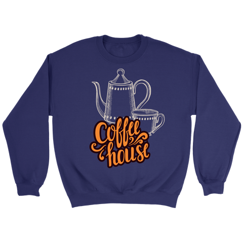 Coffee House (T-Shirt, Sweater & Hoodie, Many Colors) - Nana The Noodle