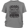 Image of God Shows His Love For Us - Youth T-Shirt  (2 colors) - Nana The Noodle