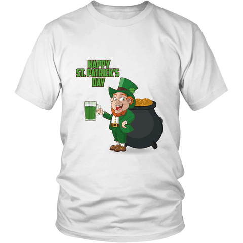 Happy St. Patrick's Day - Unisex T-Shirt (4 colors) - Nana The Noodle