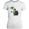 Image of Happy St. Patrick's Day - Ladies T-Shirt (3 colors) - Nana The Noodle