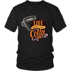 Image of Life Begins With Coffee T-Shirts (3 Varieties, Many Colors) - Nana The Noodle