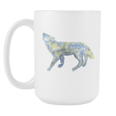 Wolf - 15oz Coffee Mug
