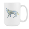 Image of Wolf - 15oz Coffee Mug - Nana The Noodle