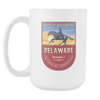 Image of Delaware - 15oz Coffee Mug (3 Versions) - Nana The Noodle