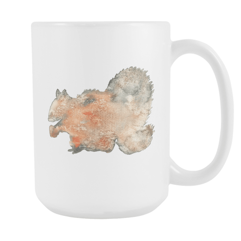 Squirrel - 15oz Coffee Mug - Nana The Noodle