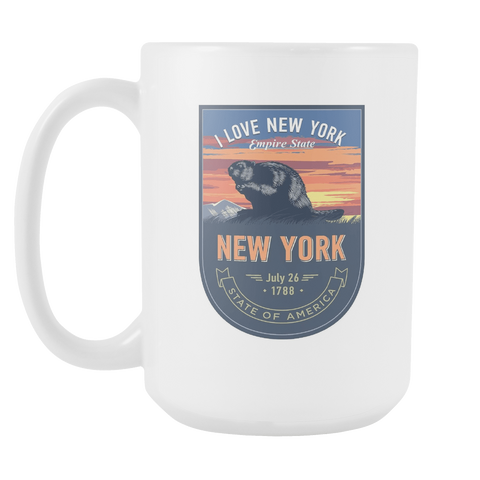 New York - 15oz Coffee Mug (3 Versions) - Nana The Noodle