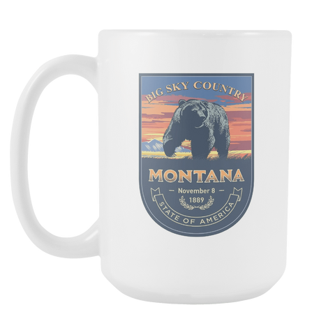 Montana - 15oz Coffee Mug (3 Versions) - Nana The Noodle