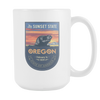 Image of Oregon - 15oz Coffee Mug (3 Versions) - Nana The Noodle