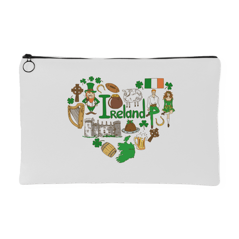 I Love Ireland - Accessory Pouch - Nana The Noodle