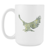 Image of Eagle - 15oz Coffee Mug - Nana The Noodle