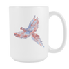 Image of Parrot - 15oz Coffee Mug - Nana The Noodle