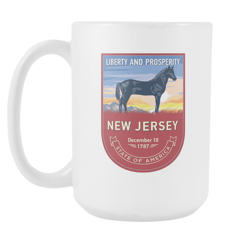 New Jersey - 15oz Coffee Mug (3 Versions) - Nana The Noodle