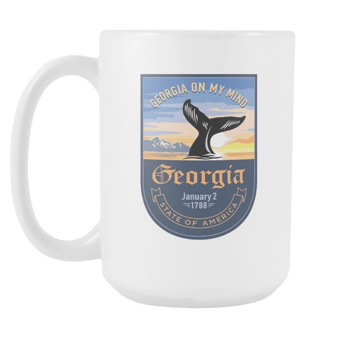 Georgia - 15oz Coffee Mug (3 Versions)