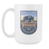 Image of Wyoming - 15oz Coffee Mug (3 Versions) - Nana The Noodle