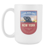 Image of New York - 15oz Coffee Mug (3 Versions) - Nana The Noodle