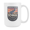 Image of Iowa - 15oz Coffee Mug (4 Versions) - Nana The Noodle