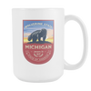 Image of Michigan - 15oz Coffee Mug (3 Versions) - Nana The Noodle