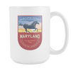 Image of Maryland - 15oz Coffee Mug (3 Versions) - Nana The Noodle