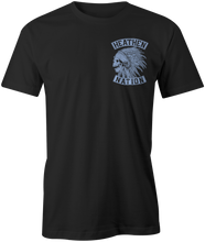 Chief T-Shirt black and blue