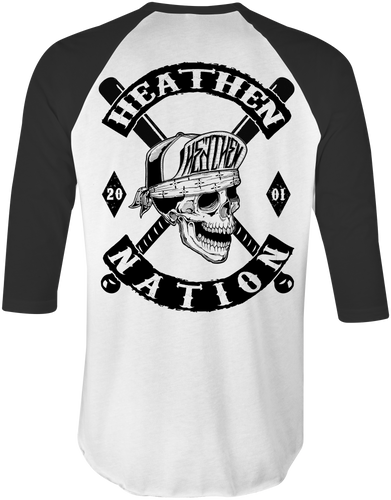Heathen Nation Raglan