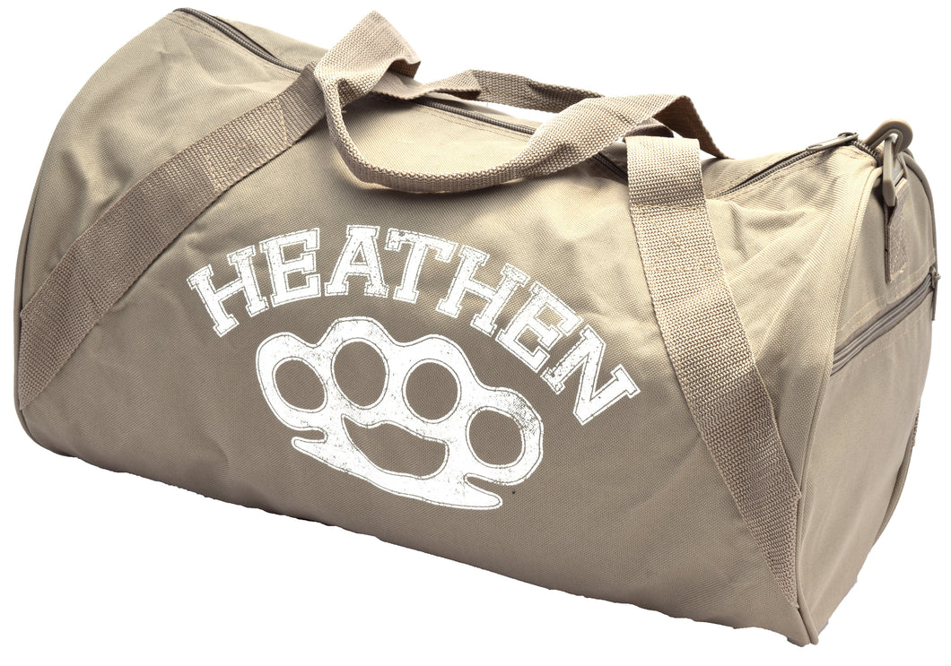 Khaki Gym Bag