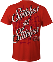 Snitches Get Stitches T-Shirt