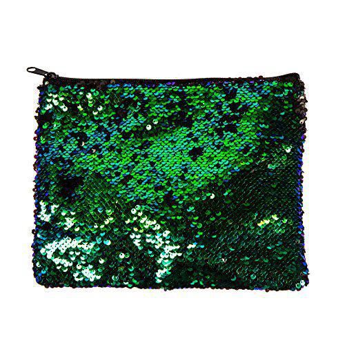Mermaid Magic Sequin Zip Pouch