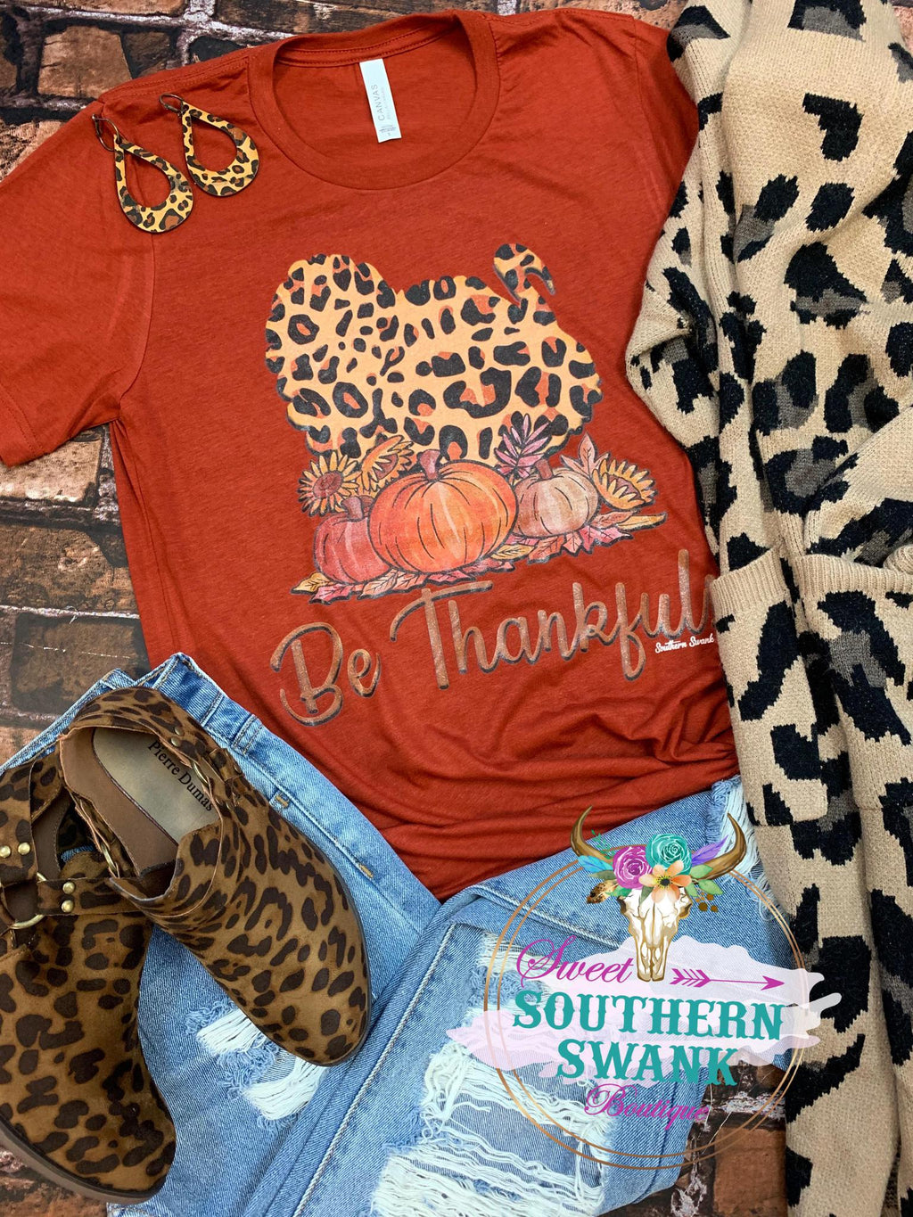 Be Thankful Turkey Tee