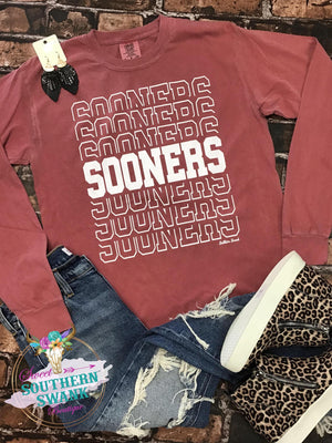 Sooners Long Sleeve Tee