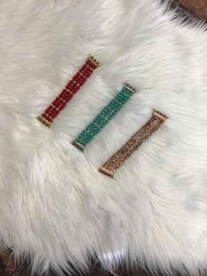 Beaded  Apple Watch Bands