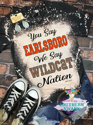 Earlsboro Wildcats Spirit Tee