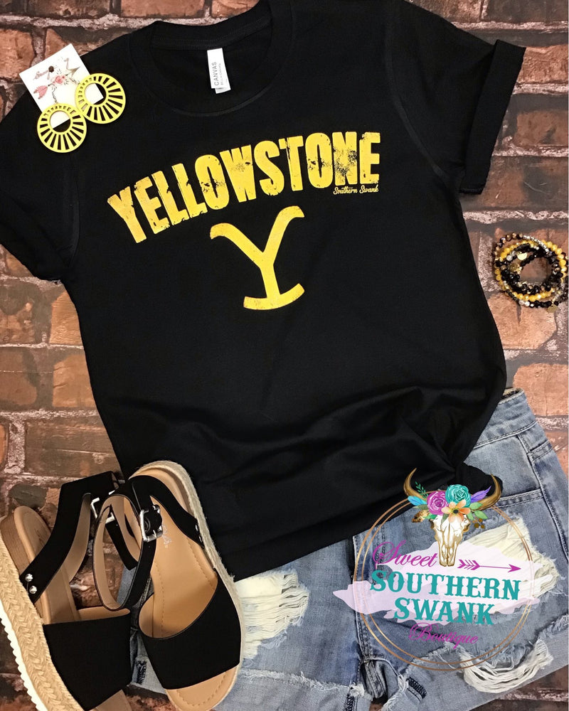 Yellowstone Logo Tee