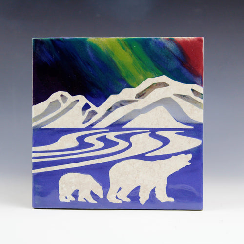 Polar Lights Trivet