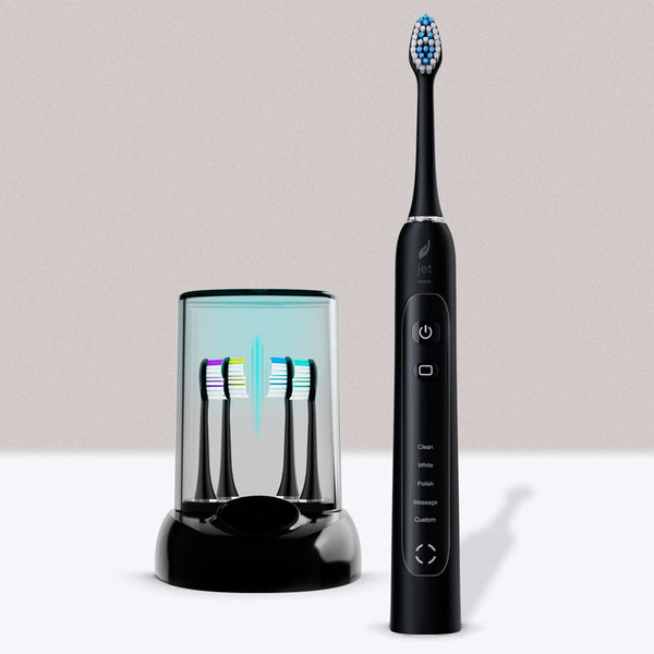 Sonic Toothbrush with UV Sanitizer