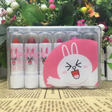 10 Pc Mood Lipsticks - affordable Cheap Clothes Quality styles - 6pcs Pink rabbit