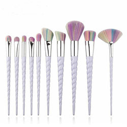 10 Piece Unicorn 2.0 Brush Set - affordable Cheap Clothes Quality styles
