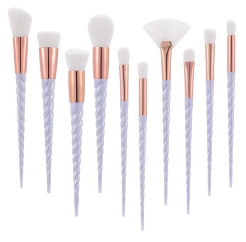 10 Piece Unicorn Brush Set - affordable Cheap Clothes Quality styles