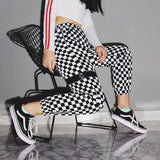 Aitana Checkered Joggers - affordable Cheap Clothes Joggers Quality