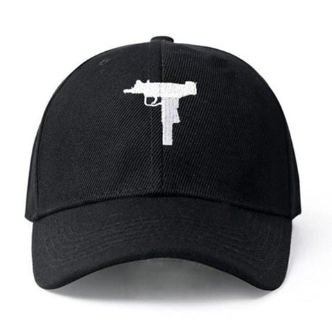 Ak-47 & Uzi Hats - affordable Cheap Clothes Hats Quality - Uzi Black