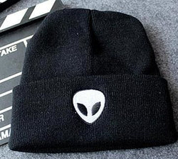 Alien Beanies - affordable Cheap Clothes Quality styles - Black