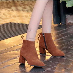 Amiya Booties - affordable Cheap Clothes Heels Quality