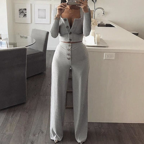 Autumn Knitted 2 Piece Sets - affordable Cheap Clothes Quality styles