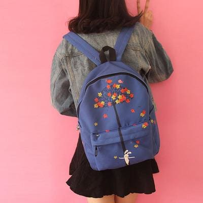 Autumn Leaves Backpack - affordable Cheap Clothes Quality styles