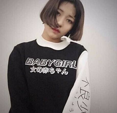 BABYGIRL Longsleeves - affordable Cheap Clothes Quality styles - Black / M
