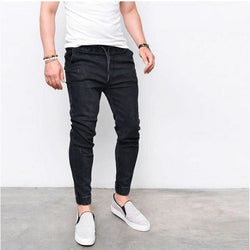 Black Jogger Jeans - affordable Cheap Clothes Quality Streetwear Bottoms - Black / S