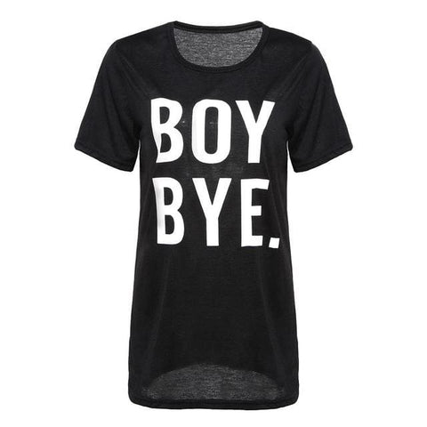 BOY BYE Shirts - affordable Cheap Clothes Quality styles - Black / L